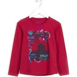 Odjeća Djevojčica Sportske majice Losan 624 1028AB Ljubičasta