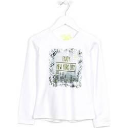 Odjeća Djeca Puloveri Losan 624 1204AB Bijela