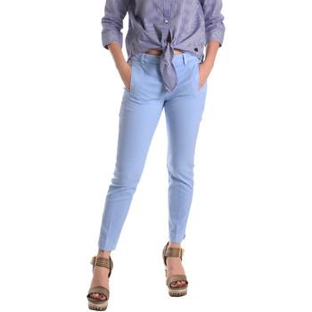 Odjeća Žene  Chino hlačei hlače mrkva kroja Fornarina BE171L74G29118 Plava