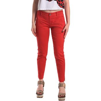 Odjeća Žene  Chino hlačei hlače mrkva kroja Fornarina BE171L74G29176 Crvena