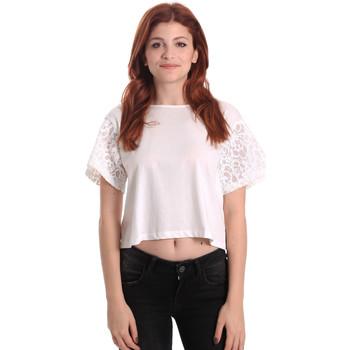 Odjeća Žene  Topovi i bluze Fornarina BE175J88JG1309 Bijela