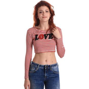 Odjeća Žene  Majice dugih rukava Fornarina BE175L14JG0976 Crvena