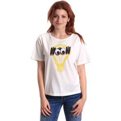 Odjeća Žene  Majice kratkih rukava Fornarina BE175L27JG1608 Bijela