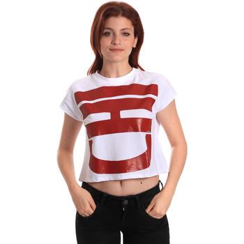 Odjeća Žene  Majice kratkih rukava Fornarina BE175L31JG0709 Bijela