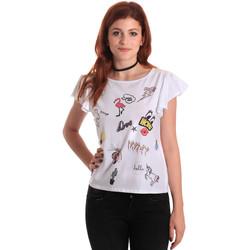Odjeća Žene  Majice kratkih rukava Fornarina BE175L40JG0709 Bijela
