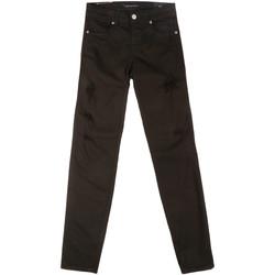 Odjeća Žene  Slim traperice Fornarina BER1I86D844BP Crno