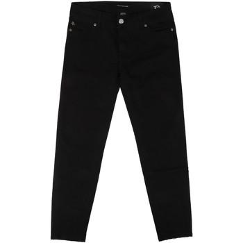 Odjeća Žene  Slim traperice Fornarina BER1L01D840VA Crno