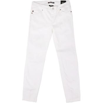 Odjeća Žene  Slim traperice Fornarina BER1L01D851VJ Bijela