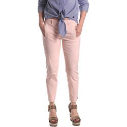 Odjeća Žene  Chino hlačei hlače mrkva kroja Fornarina SE171L74G291C5 Ružičasta