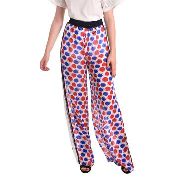 Odjeća Žene  Lagane hlače / Šalvare Fornarina SE171L91CA0676 Bijela