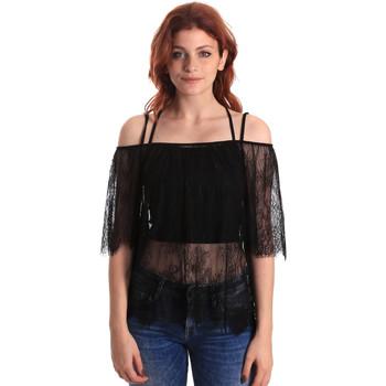 Odjeća Žene  Topovi i bluze Fornarina SE174575H26700 Crno