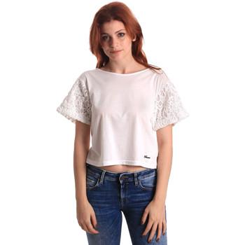 Odjeća Žene  Topovi i bluze Fornarina SE175J88JG1309 Bijela