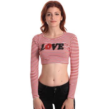 Odjeća Žene  Majice dugih rukava Fornarina SE175L14JG0976 Crvena