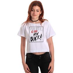 Odjeća Žene  Majice kratkih rukava Fornarina SE175L28JG0709 Bijela