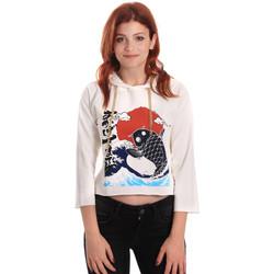 Odjeća Žene  Sportske majice Fornarina SE176842F42709 Bijela