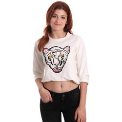 Odjeća Žene  Sportske majice Fornarina SE176844F42709 Bijela