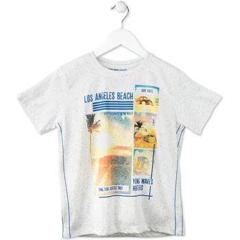 Odjeća Djeca Majice kratkih rukava Losan 713 1021AA Siva