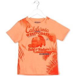 Odjeća Djeca Majice kratkih rukava Losan 713 1022AA Naranča