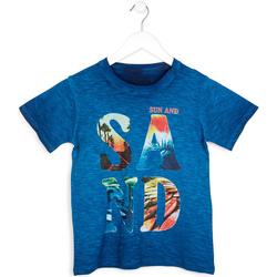 Odjeća Dječak  Majice kratkih rukava Losan 713 1023AA Plava