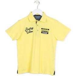 Odjeća Djeca Polo majice kratkih rukava Losan 713 1032AA Žuta boja