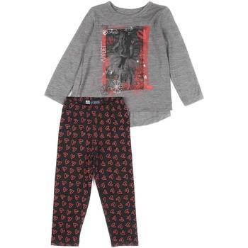Odjeća Djevojčica Dječji kompleti Losan 626 8016AD Siva