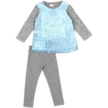 Odjeća Djevojčica Dječji kompleti Losan 626 8761AD Siva
