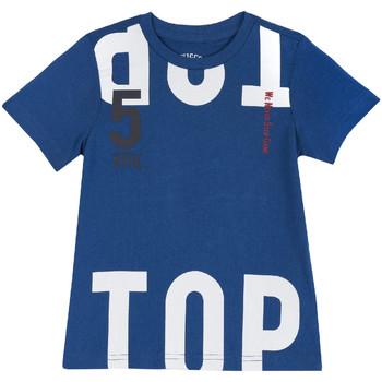 Odjeća Djeca Majice kratkih rukava Chicco 09006586000000 Plava