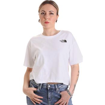 Odjeća Žene  Majice kratkih rukava The North Face NF0A4SYCFN41 Bijela