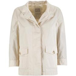 Odjeća Žene  Parke Geox W7223C T2343 Bijela