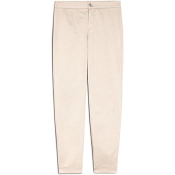 Odjeća Žene  Chino hlačei hlače mrkva kroja NeroGiardini E060100D Bež