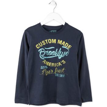 Odjeća Dječak  Majice dugih rukava Losan 713 1202AA Plava