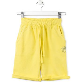 Odjeća Djeca Bermude i kratke hlače Losan 713 6016AA Žuta boja