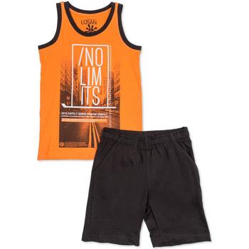 Odjeća Dječak  Dječji kompleti Losan 713 8044AA Naranča
