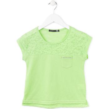 Odjeća Djevojčica Majice kratkih rukava Losan 714 1013AB Zelena