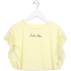 Odjeća Djevojčica Topovi i bluze Losan 714 1032AB Žuta boja