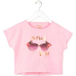 Odjeća Djevojčica Majice kratkih rukava Losan 714 1200AB Ružičasta