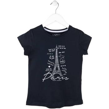 Odjeća Djevojčica Majice kratkih rukava Losan 714 1210AB Plava