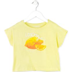 Odjeća Djevojčica Majice kratkih rukava Losan 714 1211AB Žuta boja