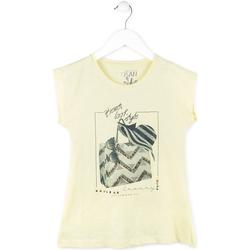 Odjeća Djevojčica Majice kratkih rukava Losan 714 1212AB Žuta boja
