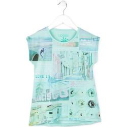 Odjeća Djevojčica Majice kratkih rukava Losan 714 1215AB Plava