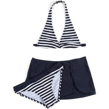Odjeća Djevojčica Dvodijelni kupaći kostimi Losan 714 4009AB Plava