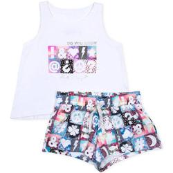 Odjeća Djevojčica Dječji kompleti Losan 714 8000AB Bijela