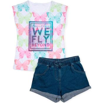 Odjeća Djevojčica Dječji kompleti Losan 714 8006AB Bijela