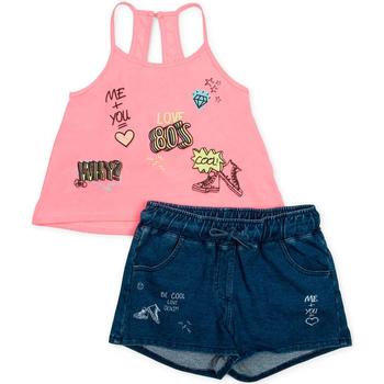 Odjeća Djevojčica Dječji kompleti Losan 714 8010AB Ružičasta