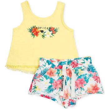 Odjeća Djevojčica Dječji kompleti Losan 714 8016AB Žuta boja