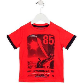 Odjeća Dječak  Majice kratkih rukava Losan 715 1001AC Crvena