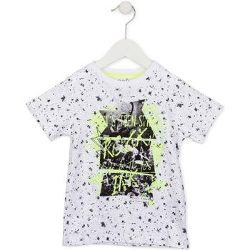 Odjeća Djeca Majice kratkih rukava Losan 715 1008AC Bijela