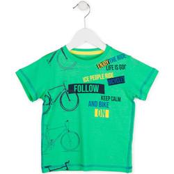 Odjeća Dječak  Majice kratkih rukava Losan 715 1014AC Zelena