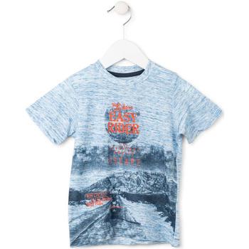 Odjeća Dječak  Majice kratkih rukava Losan 715 1018AC Plava