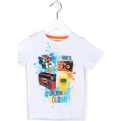 Odjeća Dječak  Majice kratkih rukava Losan 715 1023AC Bijela